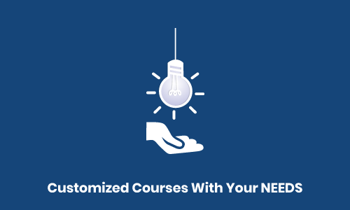 customized course with