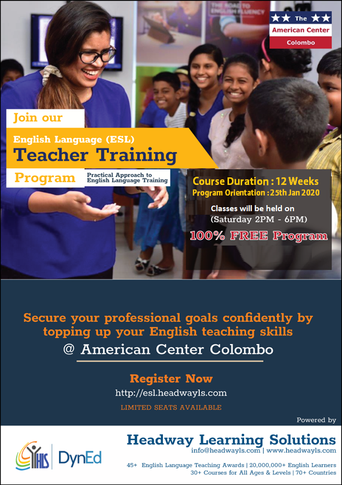 English Language Teacher Training Program
